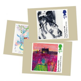 Royal Academy of Arts Postcards (set of six)