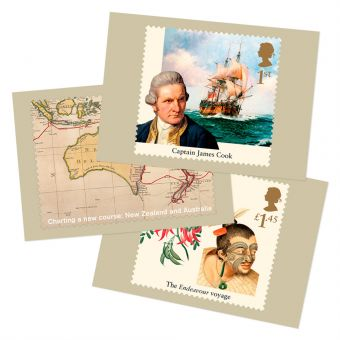 Captain Cook Postcards (Set of eleven)