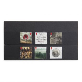 Royal Mail First World War 1916 Stamps Set