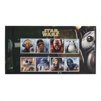 Royal Mail Star Wars Characters Stamp Set