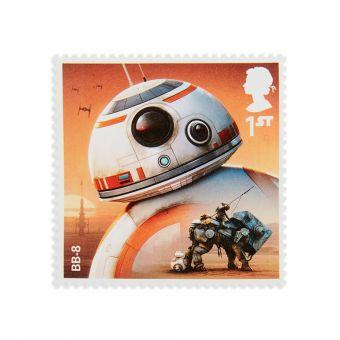 Royal Mail Star Wars Droids Stamp Set