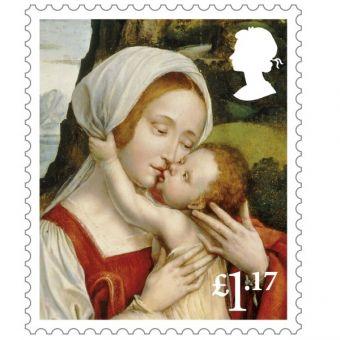 50 x £1.17 Christmas Stamps