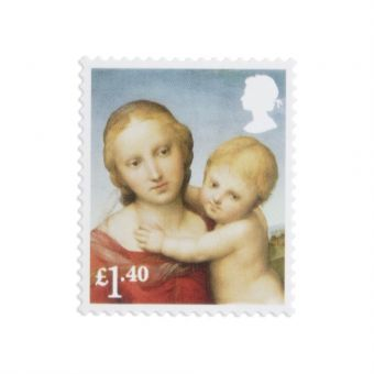 Royal Mail 50 x 1.40 Christmas Stamps