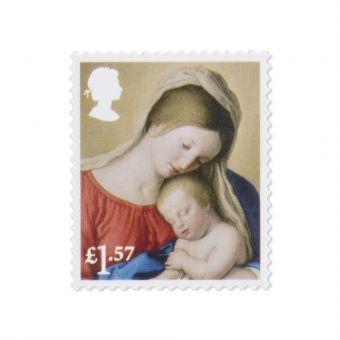 Royal Mail 50 x 1.57 Christmas Stamps