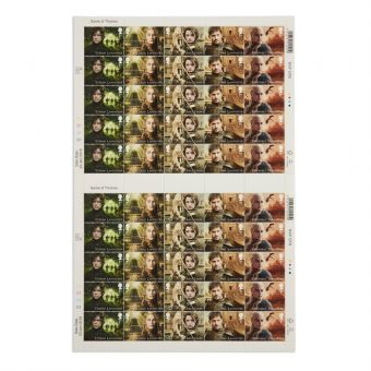 Royal Mail Game of Thrones Full Stamp Sheet 2 1