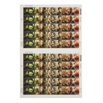 Royal Mail Game of Thrones Full Stamp Sheet 2 1