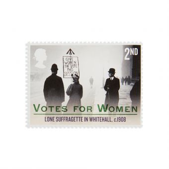 Royal Mail Votes for Women Stamp Set 2