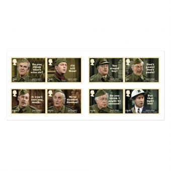 Dad's Army Mint Stamps