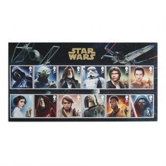 Royal Mail Star Wars 2015 Character Stamp Set