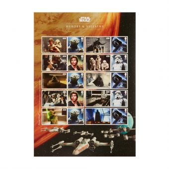 Royal Mail STAR WARS 2015 Collector Sheet 1