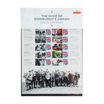 Royal Mail Commemorative Sheet Duke of Edinburgh Awards 1