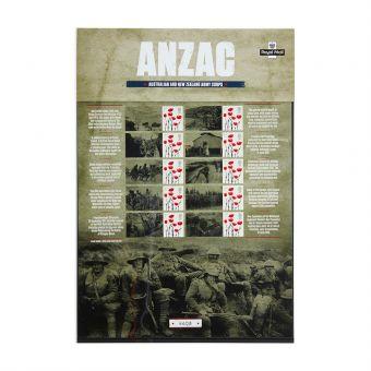Royal Mail Commemorative Sheet Anzac 1