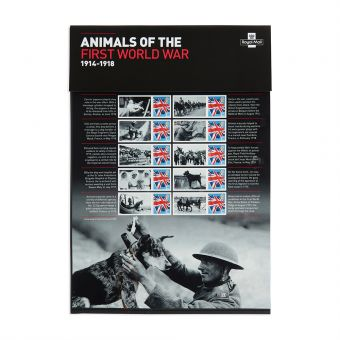 Royal Mail Animals of the First World War Commemorative Sheet 1