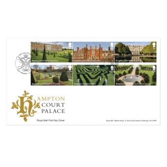 Hampton Court Stamp Souvenir