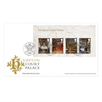Hampton Court Stamp Sheet Souvenir