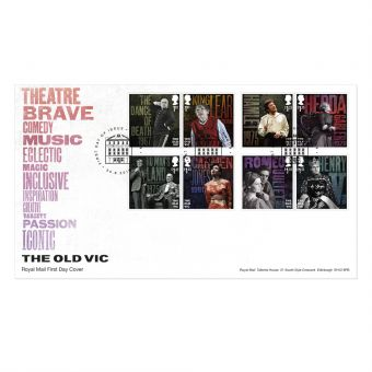 The Old Vic Stamp Souvenir