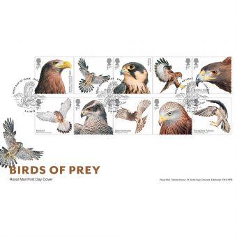 Birds of Prey Stamp Souvenir