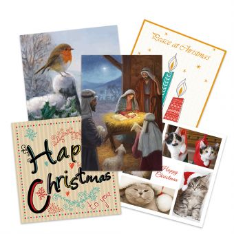 Action for Children Bumper Pack of 20 Charity Christmas Cards