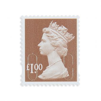 Royal Mail 25 X 1 Stamp Sheet