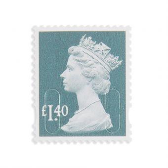 Royal Mail 25 X 1.40 Stamp Sheet