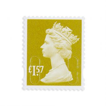 Royal Mail 25 X 1.57 Stamp Sheet