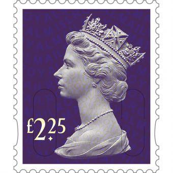 Royal Mail 25 x 2.27 Stamp Sheet