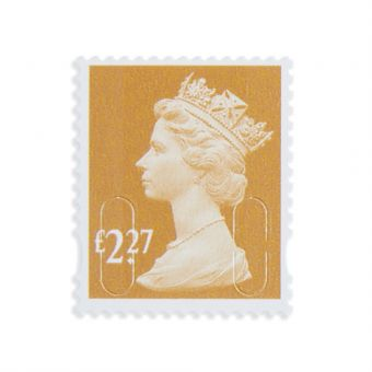Royal Mail 25 X 2.27 Stamp Sheet