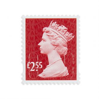 Royal Mail 25 X 2.55 Stamp Sheet