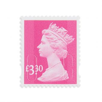 Royal Mail 25 X 3.30 Stamp Sheet