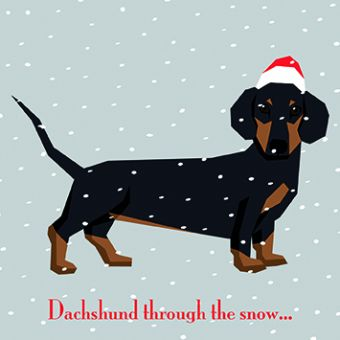 Baaa Humbug Pack of 10 Charity Christmas Cards