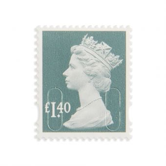 Royal Mail New Definitives 2017 Machin Definitive Mint Stamp Dark Green Pine 1.40 1