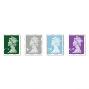 Machin Definitive 2018 Stamp Set