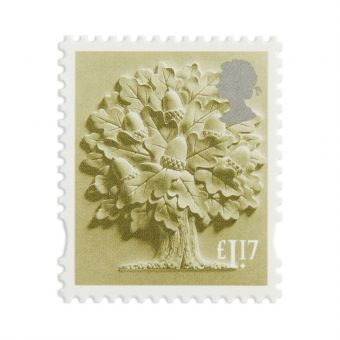Es014 New Definitives 2017 Country Definitives England Stamp 1.17