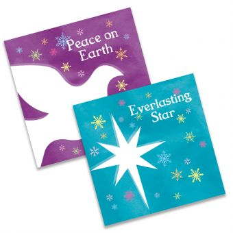 Peace on Earth and Everlasting Star Twin Pack of 10 Charity Christmas Cards