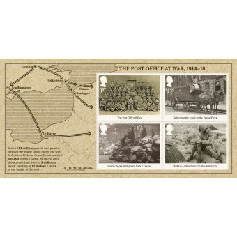 First World War - 1916 Stamp Sheet