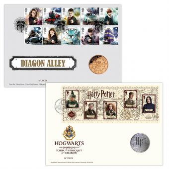 Harry Potter™ Hogwarts Medal Cover