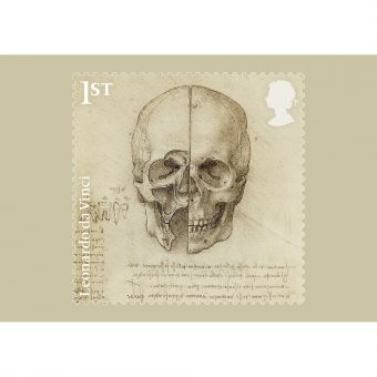 Leonardo da Vinci Stamp Set