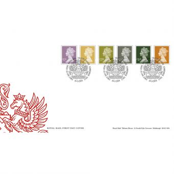 Definitives 2019 Machin Stamps First Day Cover Tallents House