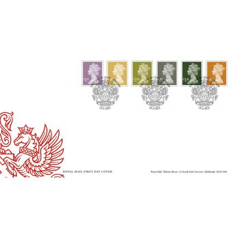 Definitives 2019 Machin Stamps First Day Cover Windsor