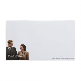 Me123 Royal Mail The Royal Wedding Platinum Anniversary First Day Envelope 1