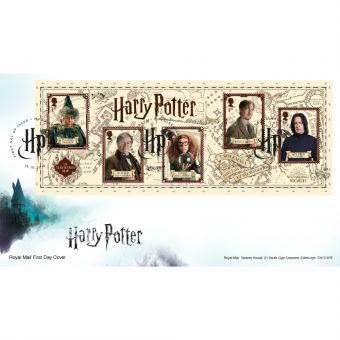 Harry Potter™ Miniature Sheet First Day Cover with Muggleswick Consett Postmark