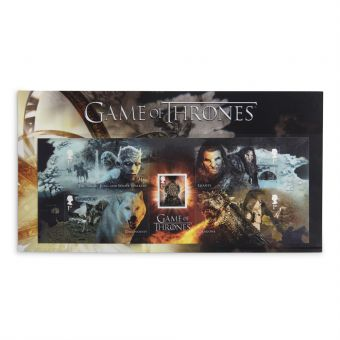 Royal Mail Game of Thrones Stamp Sheet Set