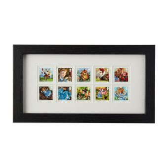 N3069 Royal Mail Framed Alices Adventures In Wonderland Stamps 1