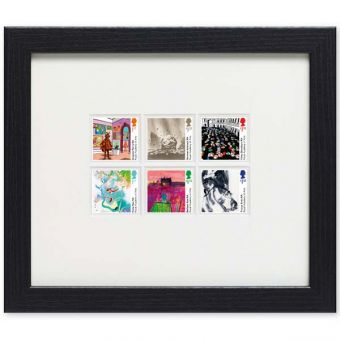 Royal Academy of Arts Framed Stamps