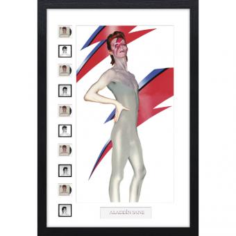 David Bowie Aladdin Sane Anniversary Frame