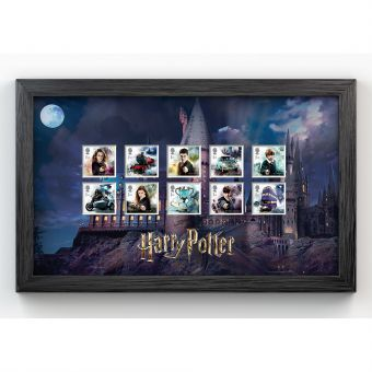 Harry Potter™ Framed Stamp Set