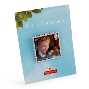 Nb158 Royal Mail Alices Adventures In Wonderland Pin Drink Me 01