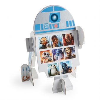 Ng006 Royal Mail Star Wars R2 D2 Display Set 1