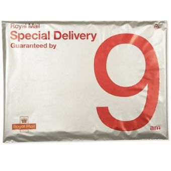 Pack of 5 C4 Special Delivery Guaranteed by 9 am Envelopes