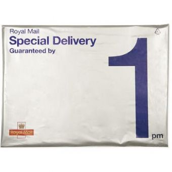 Pack of 5 Special Delivery Guaranteed by 1pm Light Goods Pack